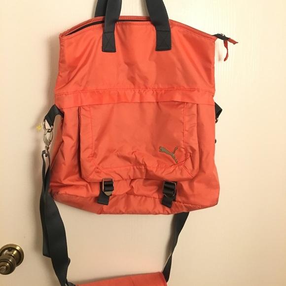 42fcb236f84 Puma Bags   Fold Over Tote   Poshmark